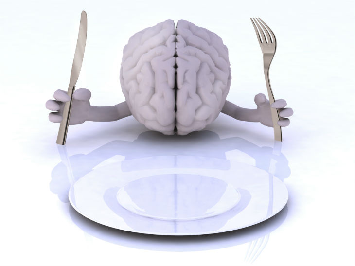 bigstock-The-Brain-With-Hands-And-Utens-94234421
