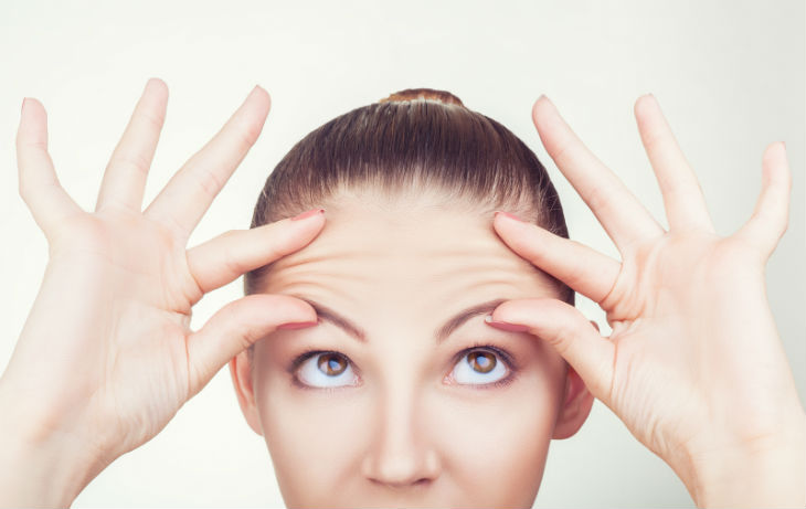 bigstock-Wrinkles-On-The-Forehead-105853262