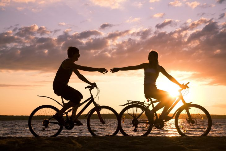 bigstock-Riding-Bicycles-5575701